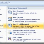 How To Convert an MS Word 2013 Document to Its Older Version