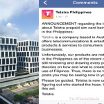 Telstra's Venture in the Philippines, is Just a Hoax and Not True