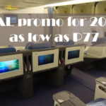 PAL offers discounted flight fares as low as P77 for its 77th Anniversary Promo