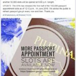100K Slots for DFA Passport Appointment are Open!
