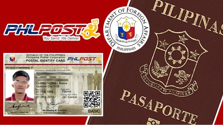 postal for passport