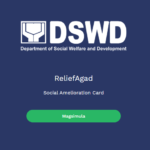 DSWD mobile application, Registration for Second Tranche of SAP distribution